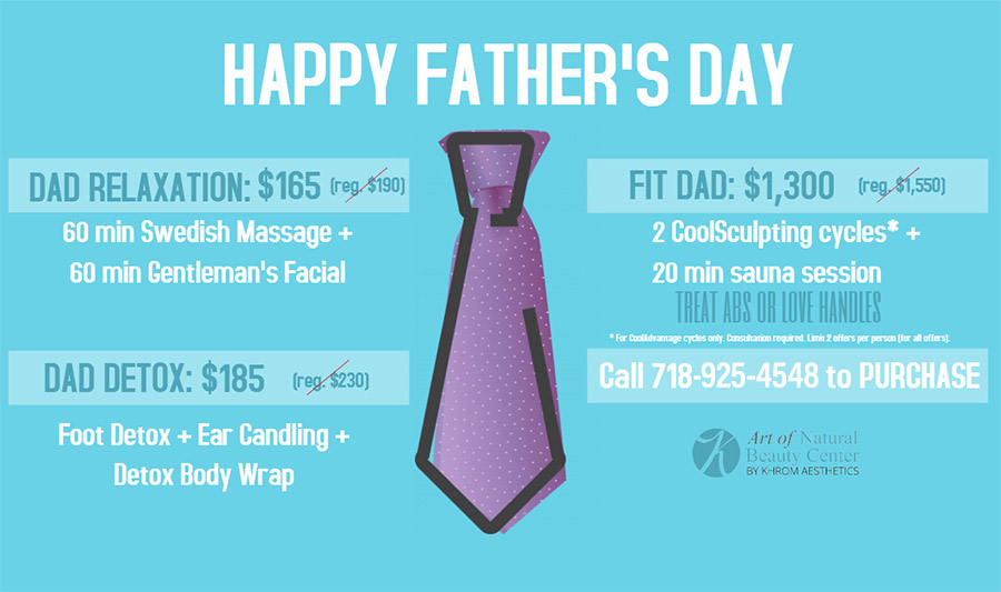 Father's Day Special - Dr. Tatiana Khrom at Art of Natural Beauty