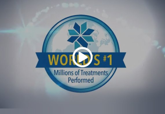 World's #1 Miliions of Treatments Performed