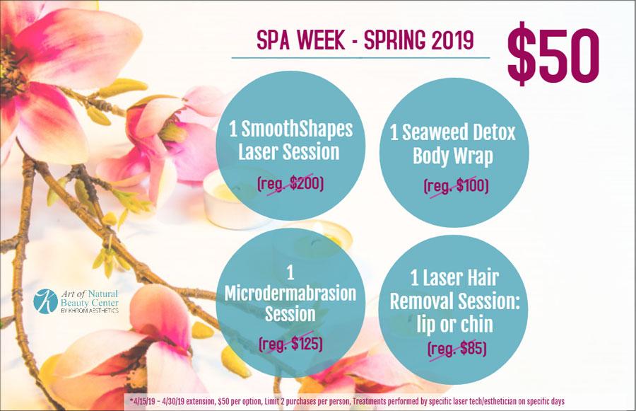 Spa Week Spring 2019