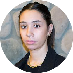 Vanessa Betancourt, coordinator at front desk